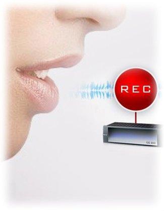 VoIP hangrögzítés